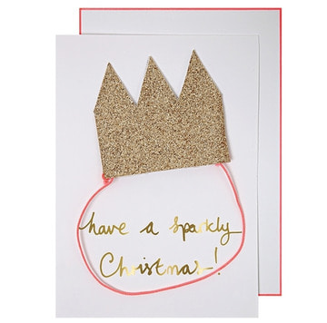 Meri Meri Pop Out Crown Card